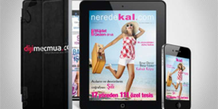 Neredekal.com Dergi iPad ve iPhone'da