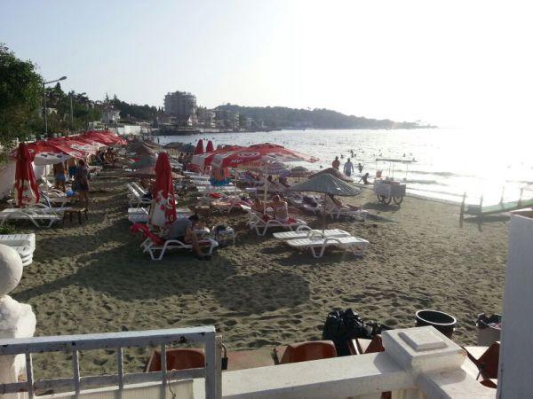 Arsuz kavaklı pansiyon bitişiğimizdeki maliye kı plajı